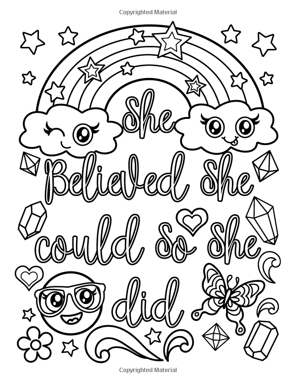 Pin By Mikey Ryan On Puffs Folder Cute Coloring Pages Quote