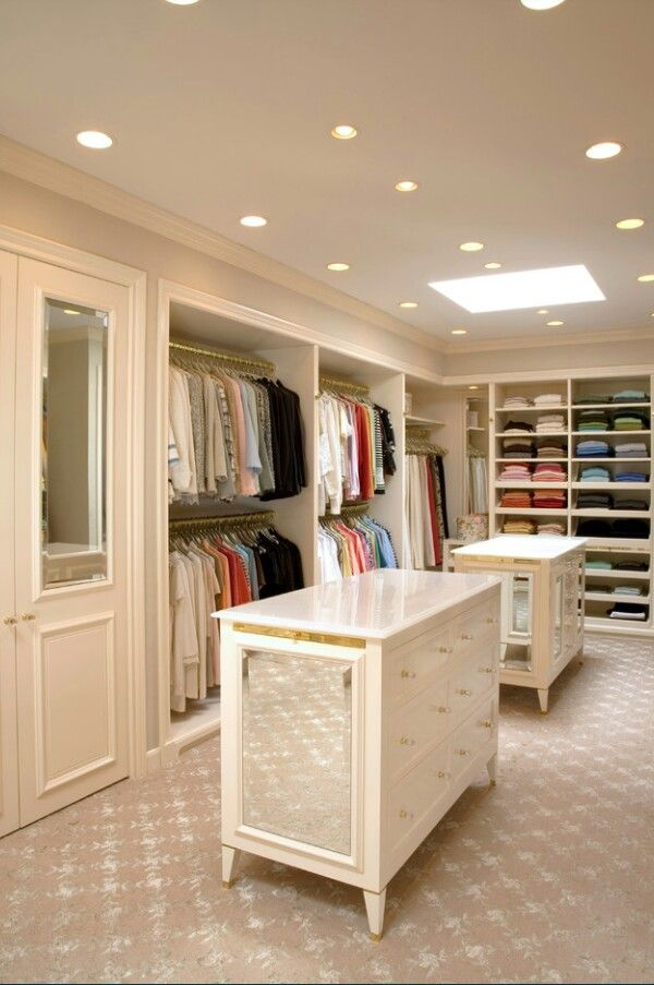 A Couples Walk In Closet