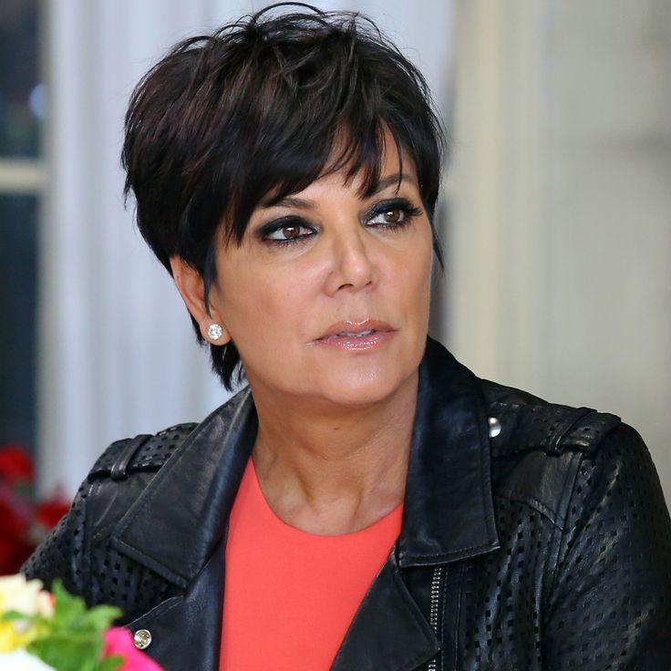 Znalezione Obrazy Dla Zapytania Mama Kardashian Haircut Fryzury