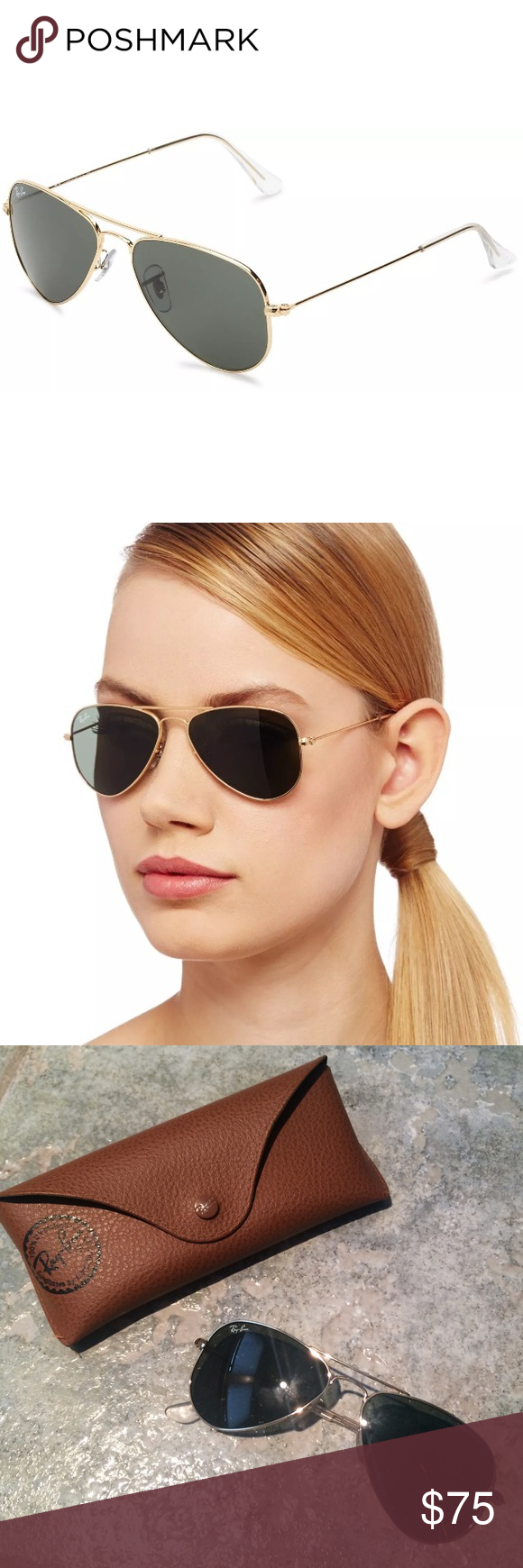 Aviator sunglasses for small face - Rb 3044 Ray Ban Small Aviators