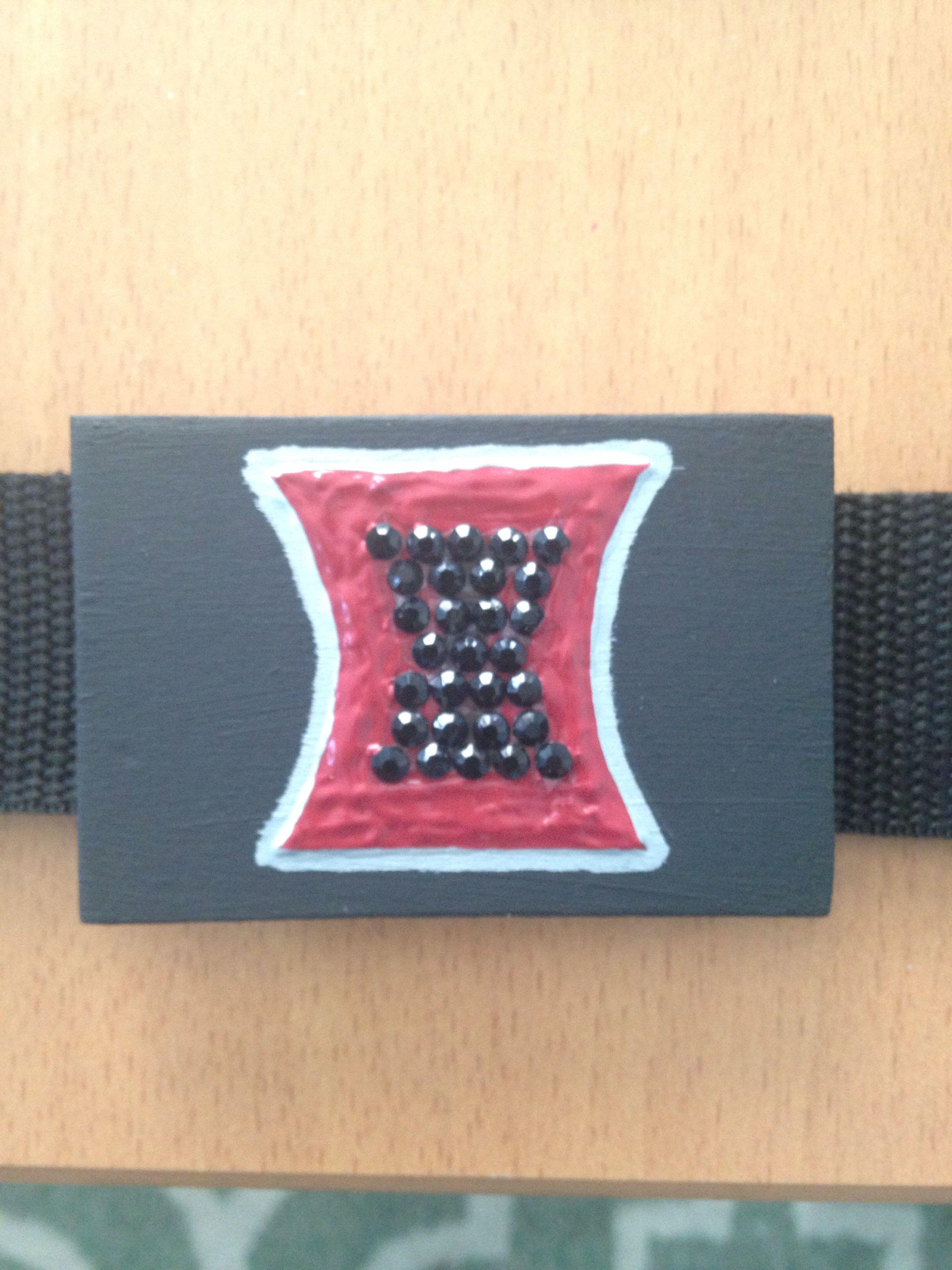Diy black widow belt buckle black widow belt belt