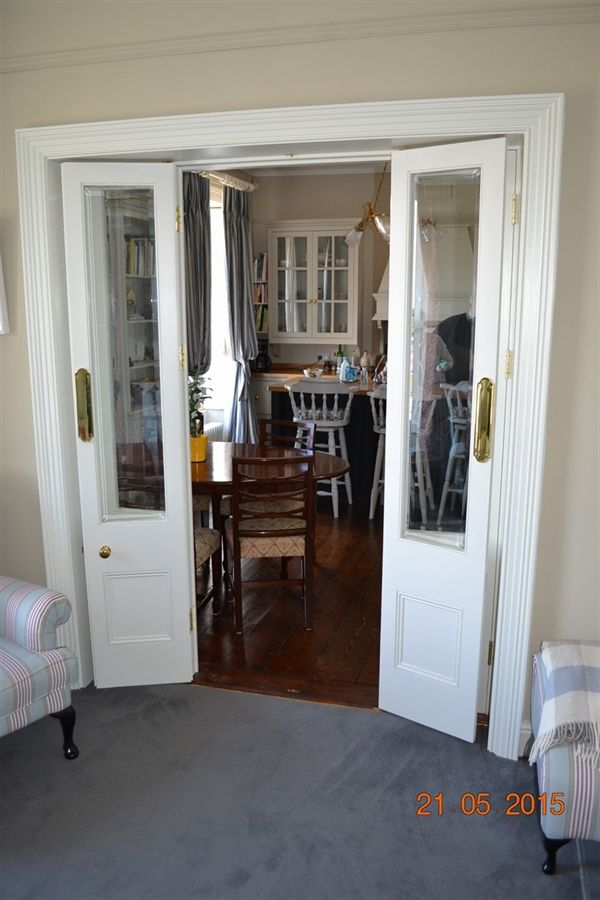 Bespoke Internal Doors Made To Measure Room Divider Lounge