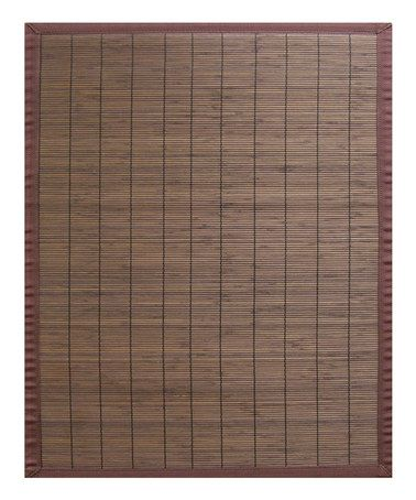 This Coffee Villager Bamboo Rug is perfect! #zulilyfinds
