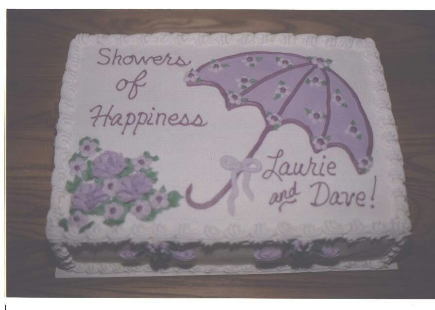Showers Of Happiness Cake Wedding Shower Cakes Bridal Shower