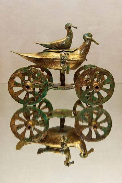 Votive Chariot Illyrian Probably Autariatae In The Form