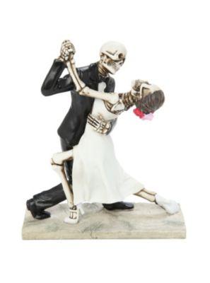 Skeleton Groom Carrying Bride Couple Figure For Dia De Los Muertos ...