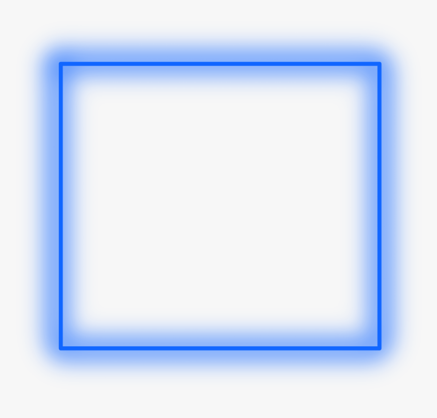 Sticker Neon Square Blue Freetoedit Frame Border Circle Hd Png Download Is Free Transparent Png Image To Explore M Neon Light Wallpaper Neon Png Png