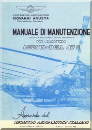 agusta bell helicopter 47 g inspection and maintenance manual rh pinterest com Agusta Aerospace Agusta 109 Grand