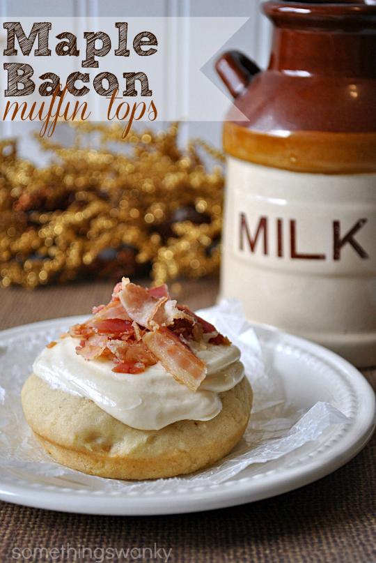 Maple Bacon Muffin Tops #breakfast #recipe #bacon