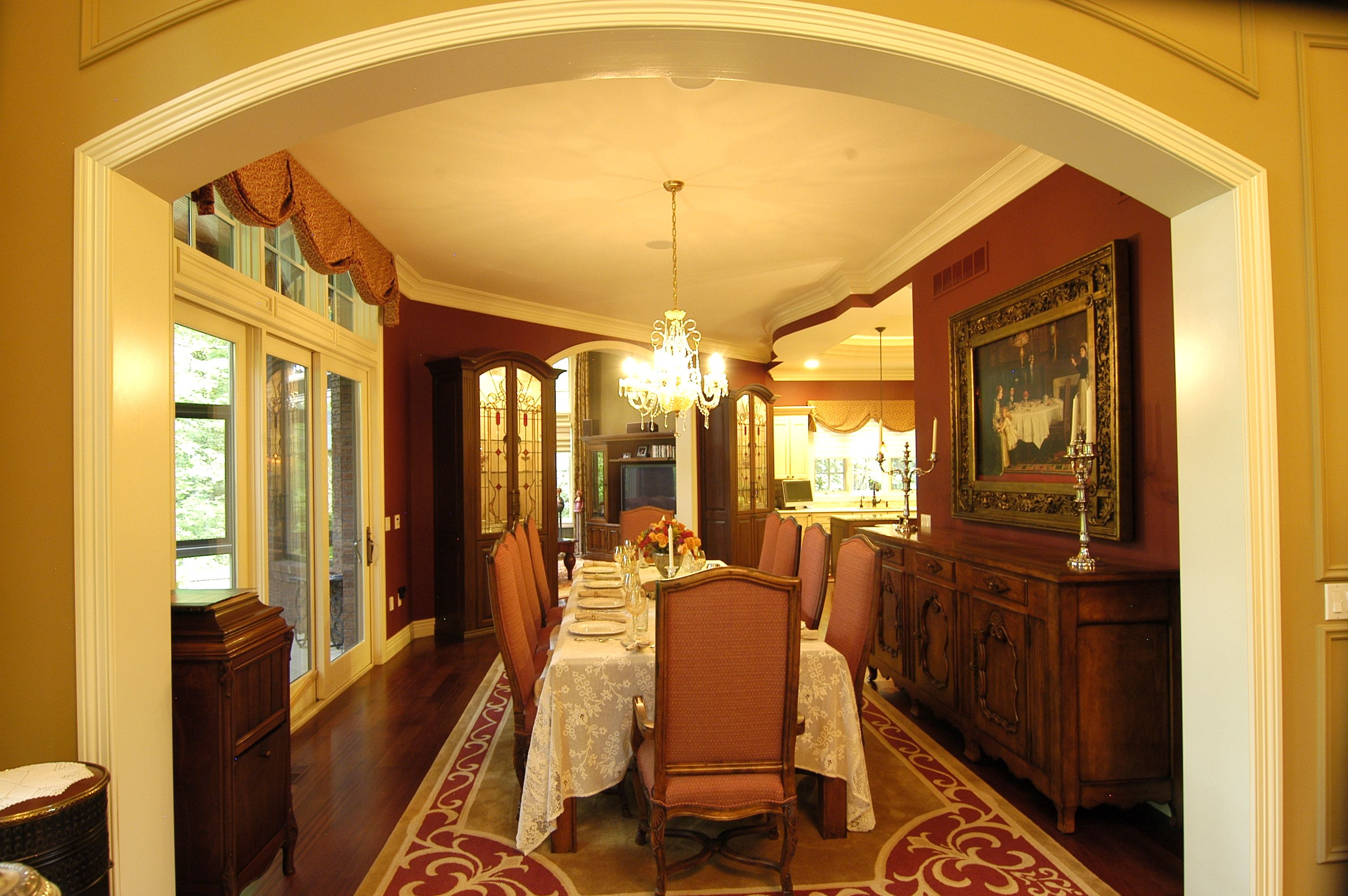 Stunning Country Dining Room Color Schemes Contemporary ...