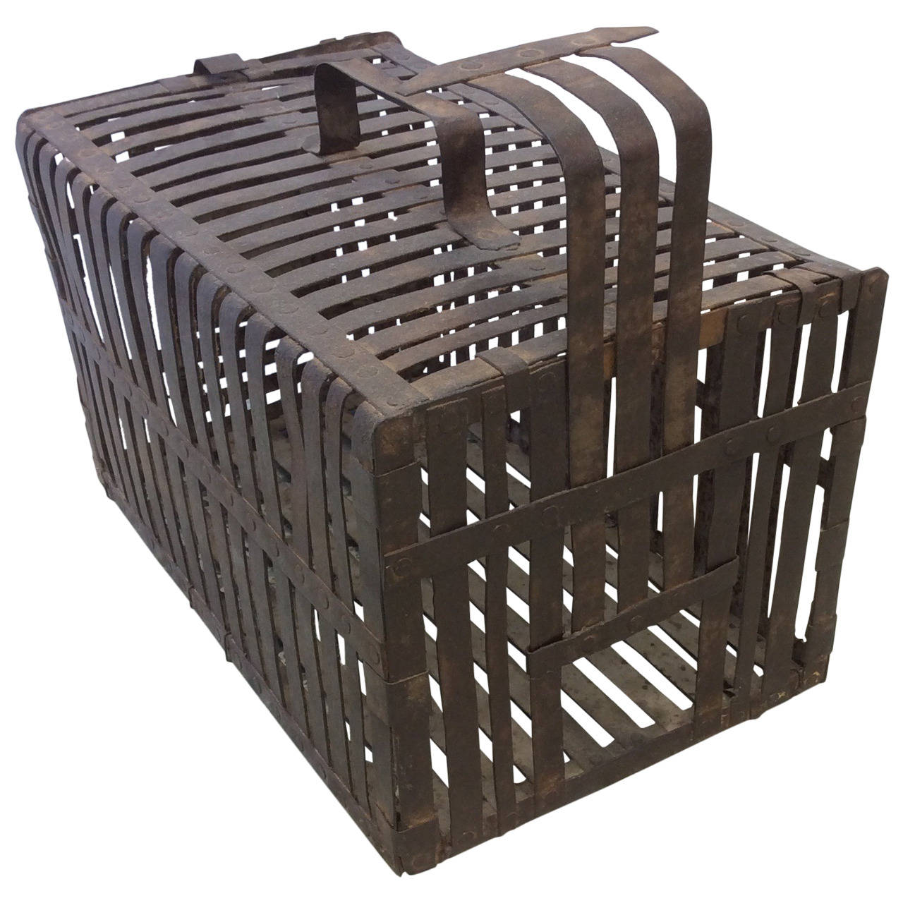 Vintage Mouse Trap Cage Height 8 In 20 Cm Width 13 In 33 Cm Depth 8 In 20 Cm Mouse Traps Vintage Traps