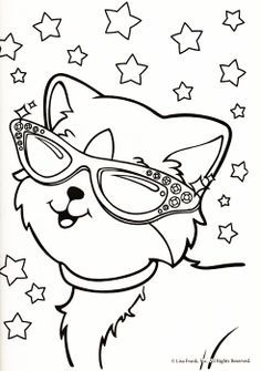 Merveilleux Lisa Frank Cat Coloring Pages Located In CAT Category. Free Printable Lisa  Frank Cat Coloring Pages For Kids.