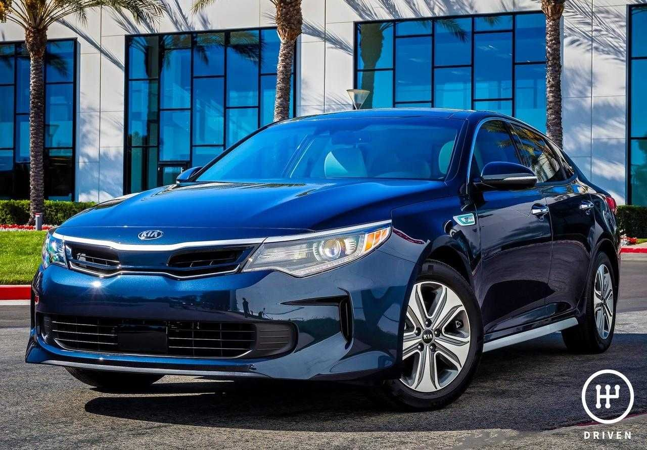 Kia 2017 Optima Hybrid Technical Features & Pictures
