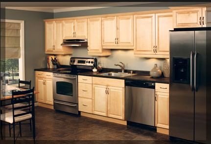 All Appliances On One Wall Design Small Kitchen Layouts Kitchen