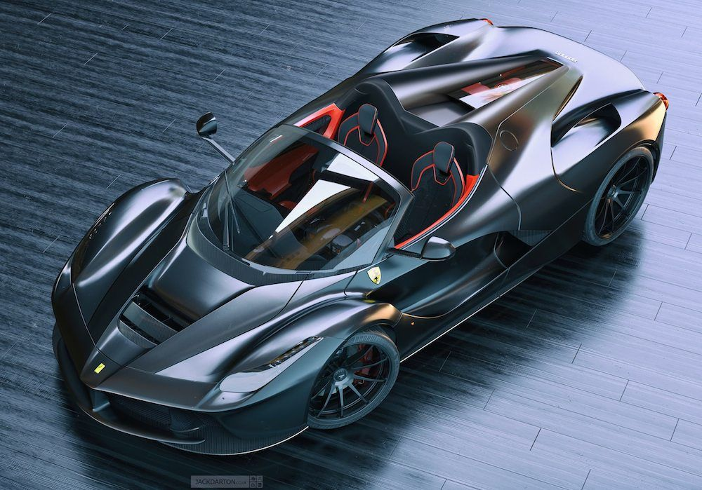 This Is What Laferrari Spider Looks Like Probably With Images