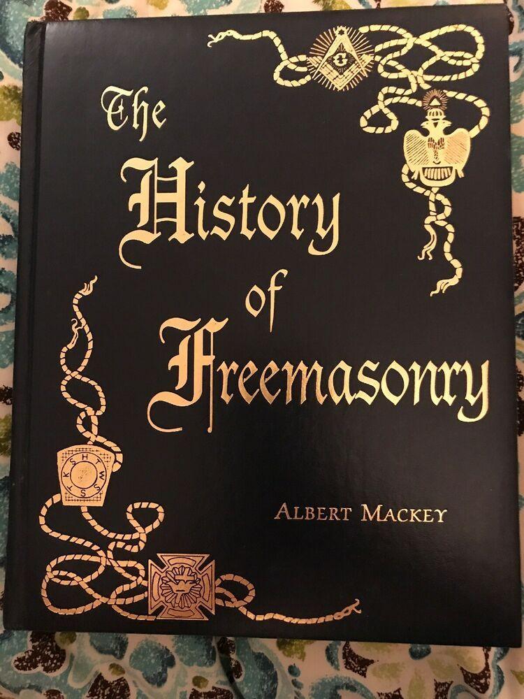 History of Freemasonry Albert Mackey Gramercy books 1996