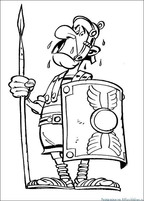 Coloriage Asterix Et Les Vikings A Imprimer Gratuit Az Coloriage