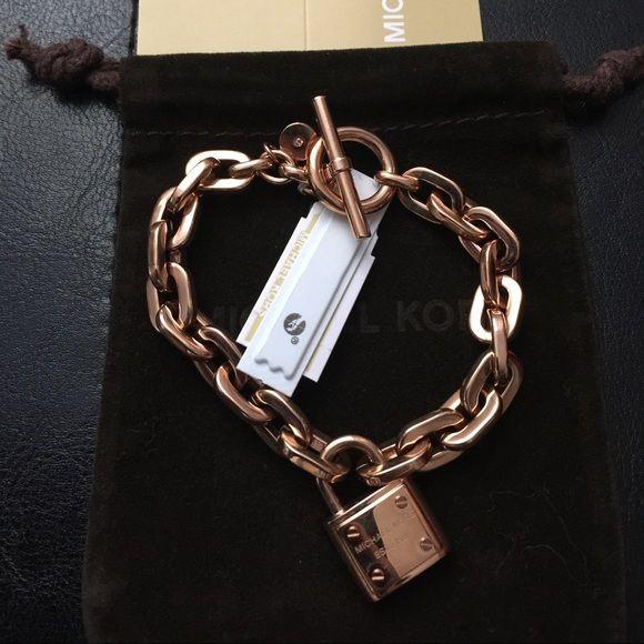 NWT MICHAEL KORS New with tag Michael kors  bracelets rose gold . Michael Kors Jewelry Bracelets