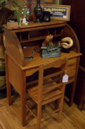 Child S Roll Top Desk Antiques And Uniques In Palm Harbor Florida