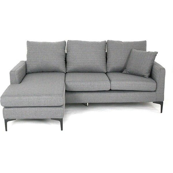 Small L Shape Sofa Mobler Furniture Richmond Vancouver Bc Liked On Polyvore Featuring Home Furniture Sofa L Shaped Sofa L Shaped Couch Light Gray Couch