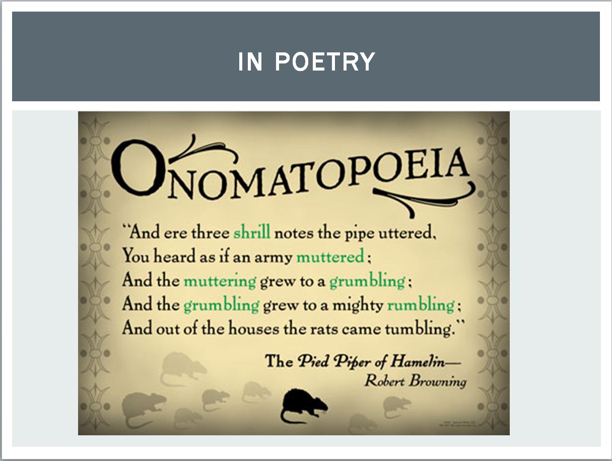 Onomatopoeia Google Search Figures Of Speech Pinterest