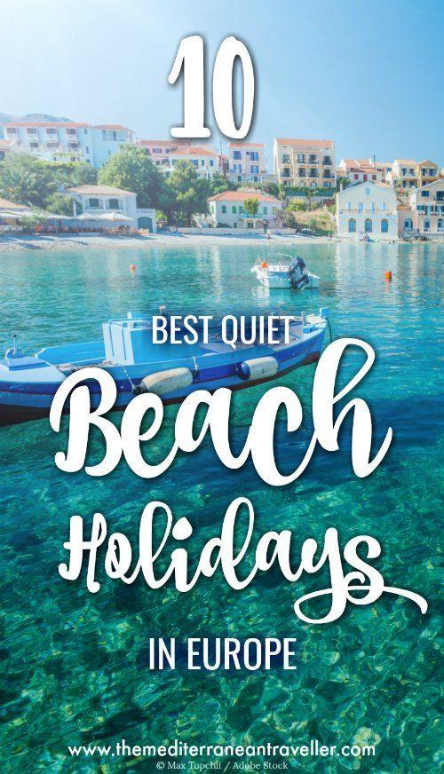 Summer holiday destinations europe