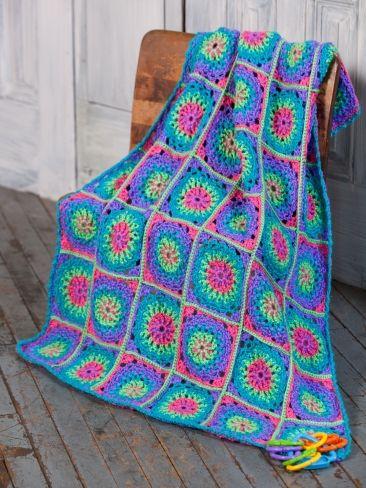 Lite 'n Bright Baby Blanket   Yarn   Knitting Patterns   Crochet Patterns   Yarnspirations