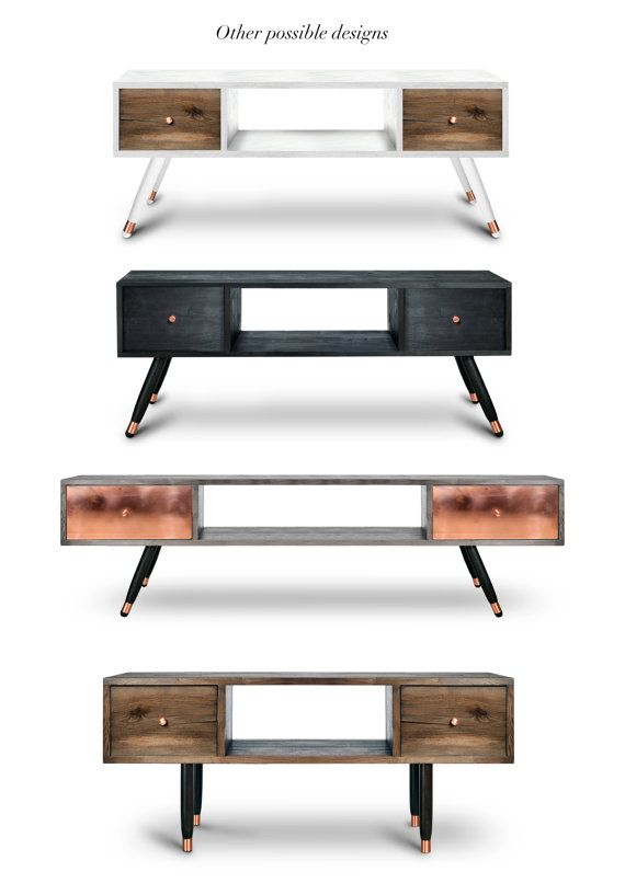 Modern Walnut Living Room Furniture: Contemporary Oxara Console Table With Walnut Veneer In