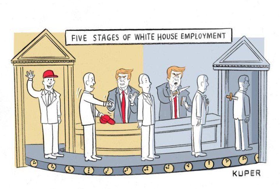 5 Twitter New Yorker Cartoons Trump Cartoons Political Cartoons