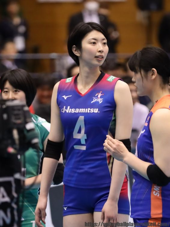 女子バレー画像 岩坂名奈選手 Vリーグオールスター