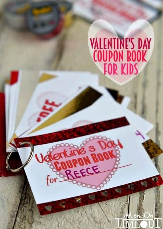 Treat Your Little Sweetheart To A Printable ValentineS Day Coupon