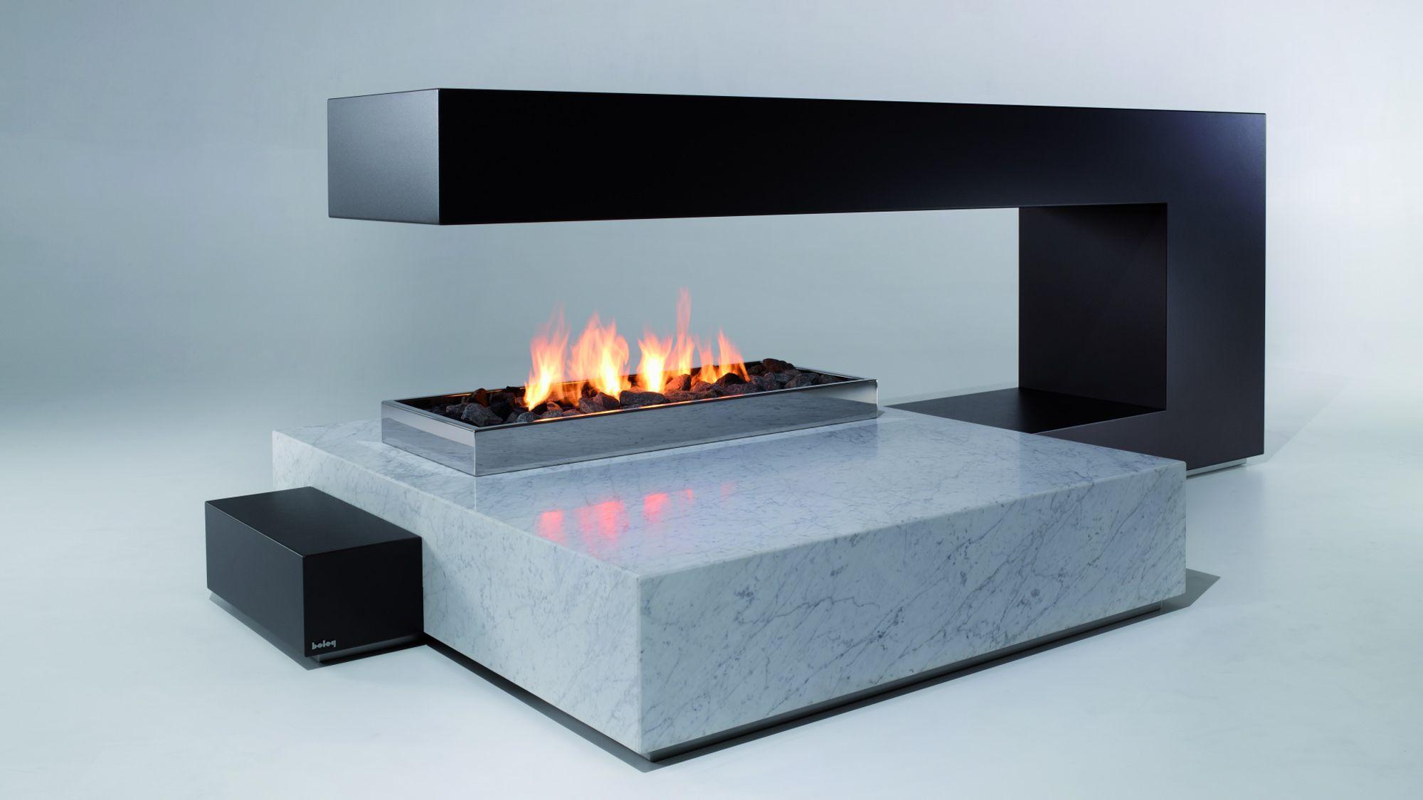 Fireplace: standalone fireplace paperclip