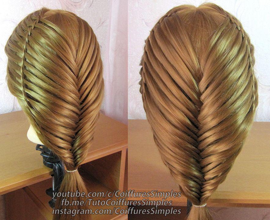 Tuto coiffure simple cheveux long/mi long. Facile a faire