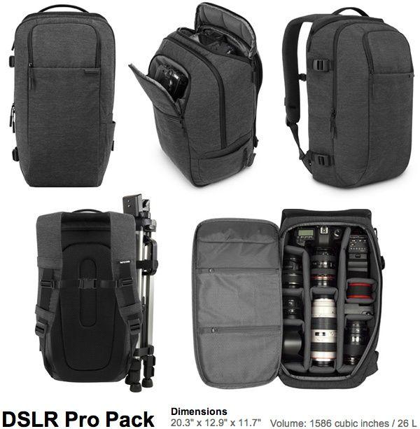 Incase DSLR Sling Pack Camera Bags (NOTCOT) - via bit.ly/epinner