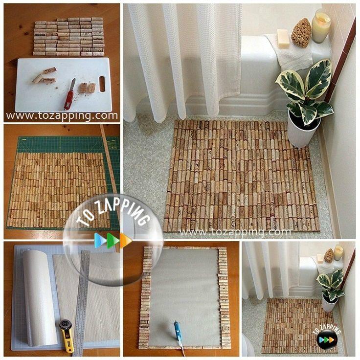 Alfombras para los ba os los tapones de corcho son for Que son las alfombras