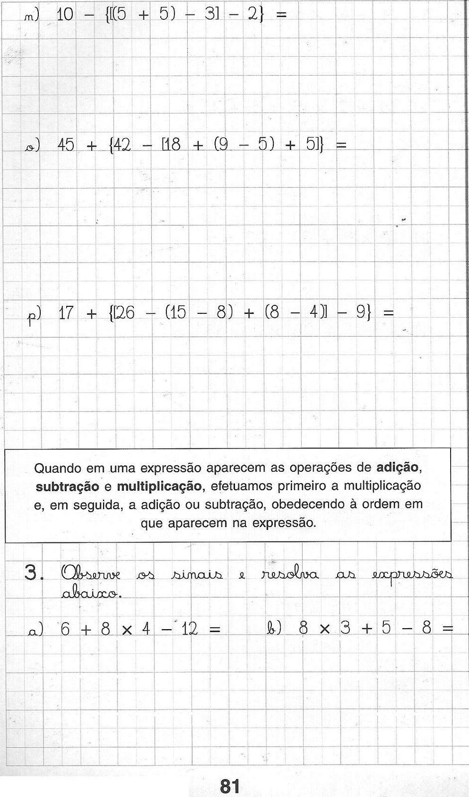 Blog da Escola Boa Vista: Matemática para 5º ano | CAIC | Pinterest