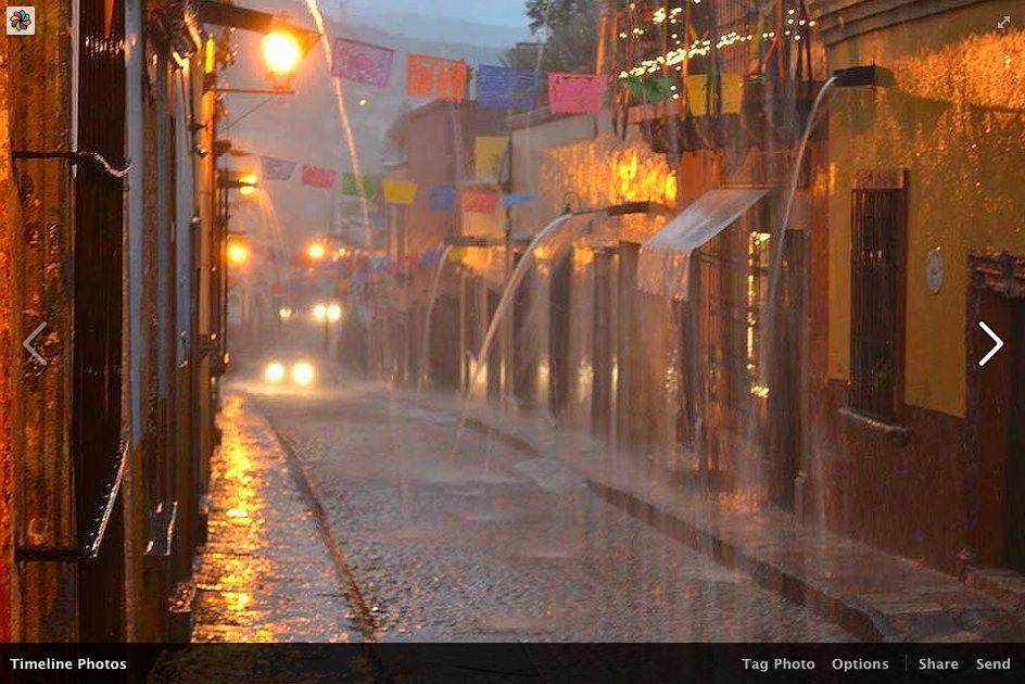 Pin de Andrea David en RAIN / LLUVIA | San miguel de allende, San ...