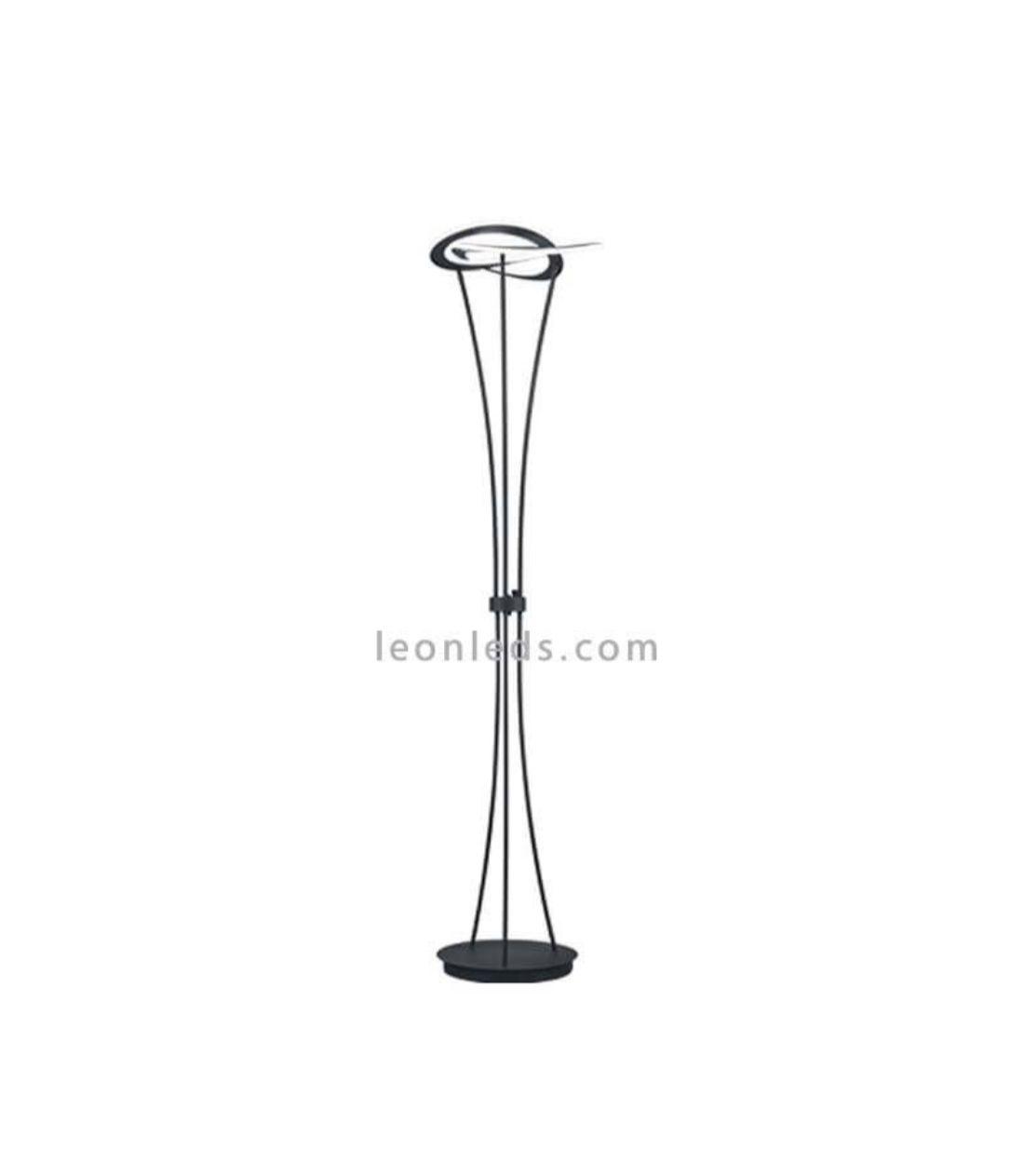 con estilo color Lámpara de de de Pie antracita moderno Led qzLVMGSUp