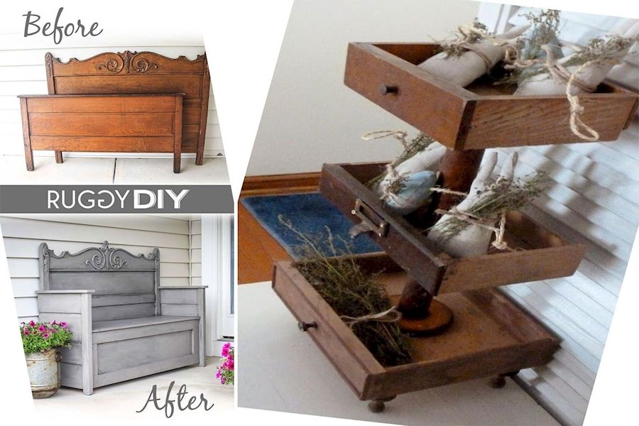 Revamping Old Furniture Furniture From Recycled Materials