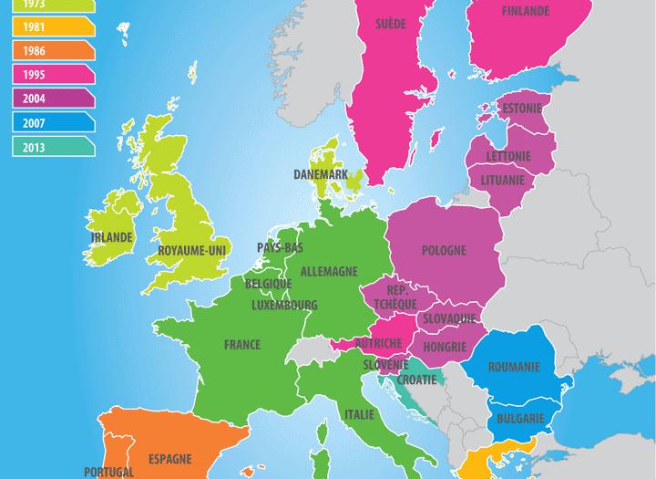 Carte Ue Carte Les Pays De L Union Europeenne Lettonie