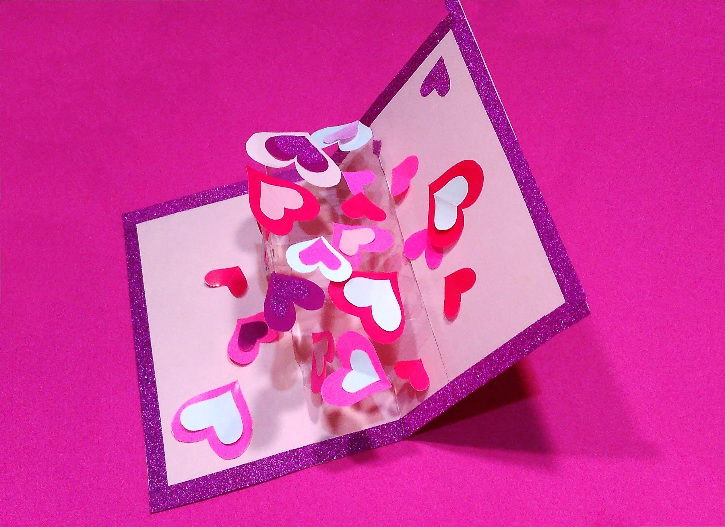 Как сделать открытку для лучшей подруги из бумаги, днем рождения