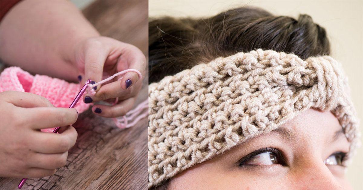 20 Minute Crochet Ear Warmer