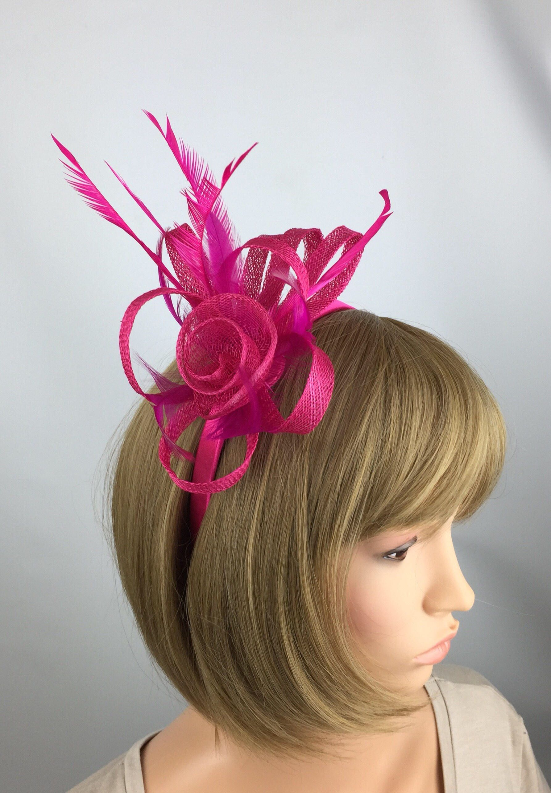 Excited to share the latest addition to my  etsy shop  Fuchsia Pink  fascinator 4d758332e70