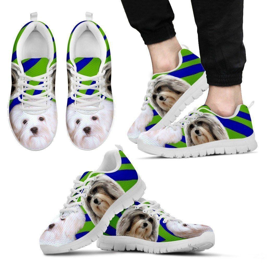 White Lowchen Dog Running Shoes For Men in 2019 Running