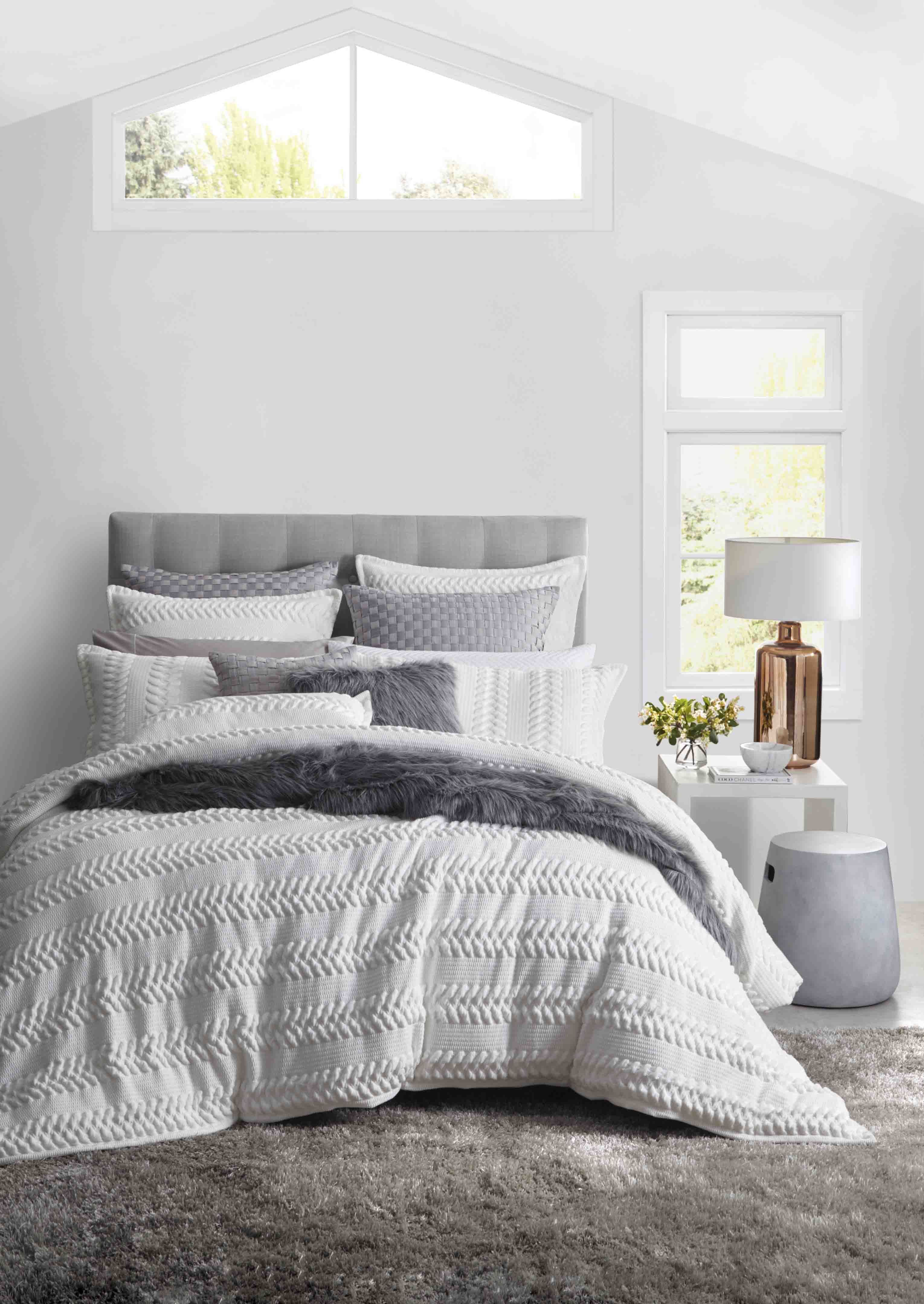PRIVATE COLLECTION - Lizette White Quilt Cover Set #white ...