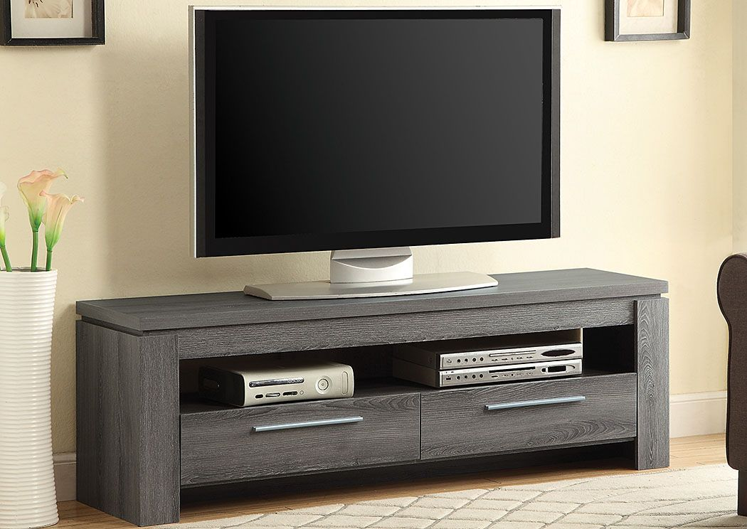 Goreeu0027s Furniture   Opelika, AL Dark Grey TV Console