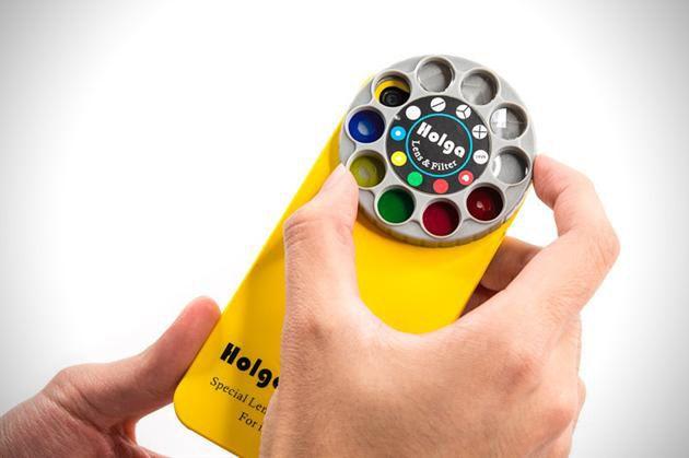 Colorful iPhone 5 Holga Camera Lens Filter #iphone #camera #filter