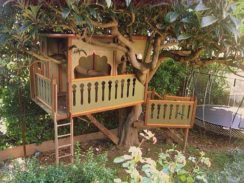 Best Tree House Plans Designs Simple Tree House Tree House Plans Tree House Kids