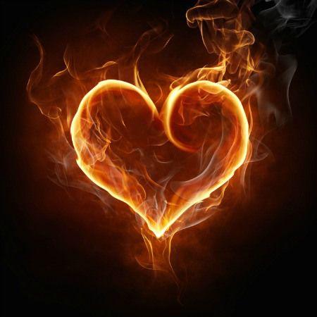 The 7 Deadly Sins Of Love I Love My Lsi Fire Heart Heart Wallpaper Fire Art Fire heart background images hd