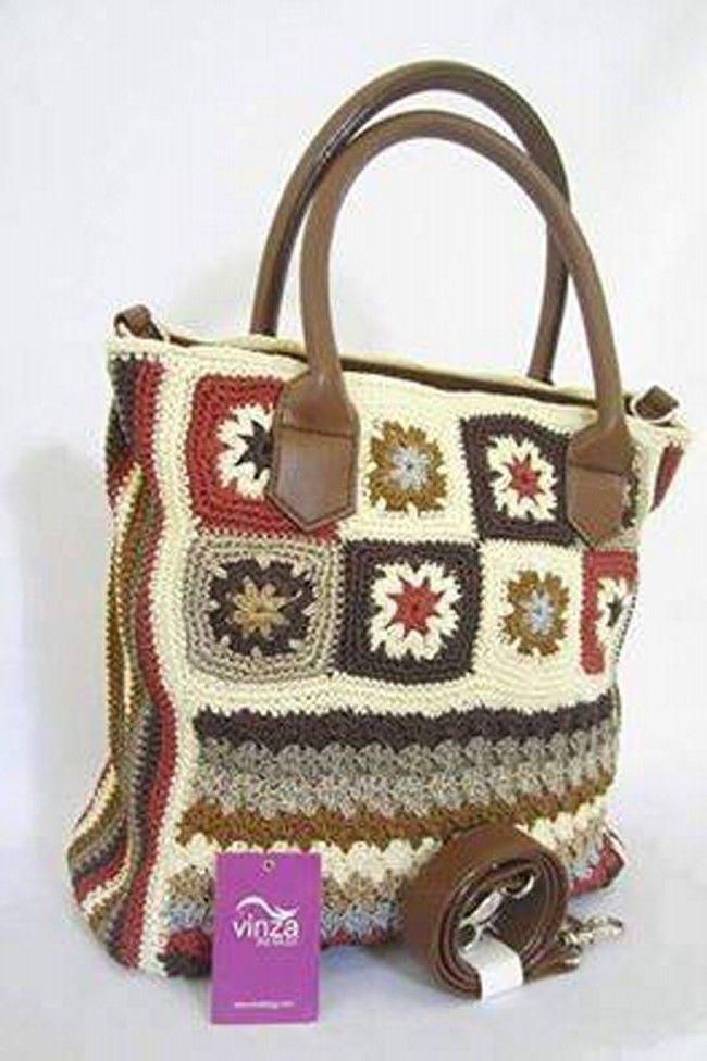 Crochet Bag Pattern Designs Crochet Pinterest Crocheted Bags